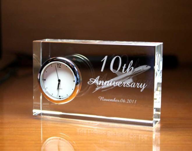 創業10周年記念品